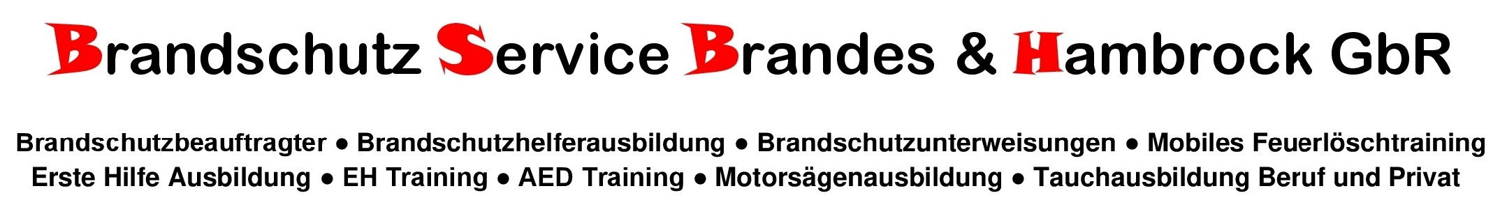 Brandschutz Service Brandes Logo